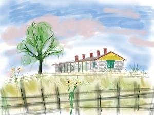 drawing of Matfield Station